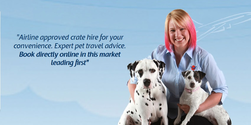 You can now hire your airline approved travel crate online! Jetpets overseas travel