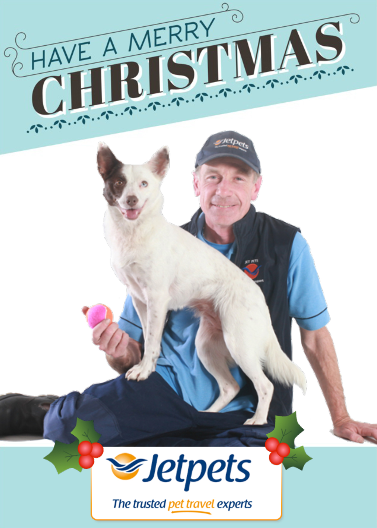 We would like to wish all of our Jetpets friends a very merry Christmas! From Jetpets Pet Transport