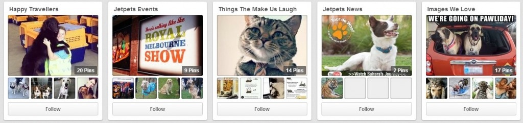 Have you checked out our Pinterest page yet? Click on the link to have a look - http://www.pinterest.com/jetpets/ - Jetpets on Pinterest