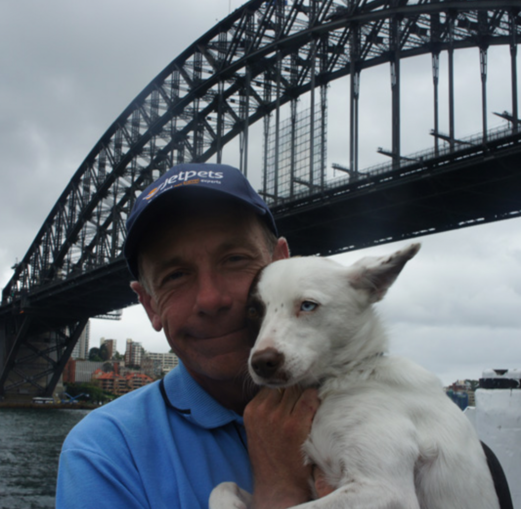 Dave and Sahara - at Jetpets we are passionate about adopting a rescue animal