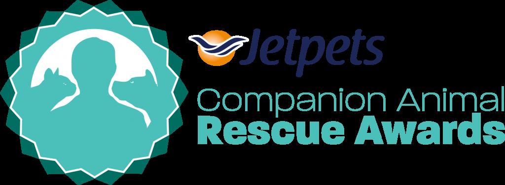 jetpets companion animal rescue awards logo